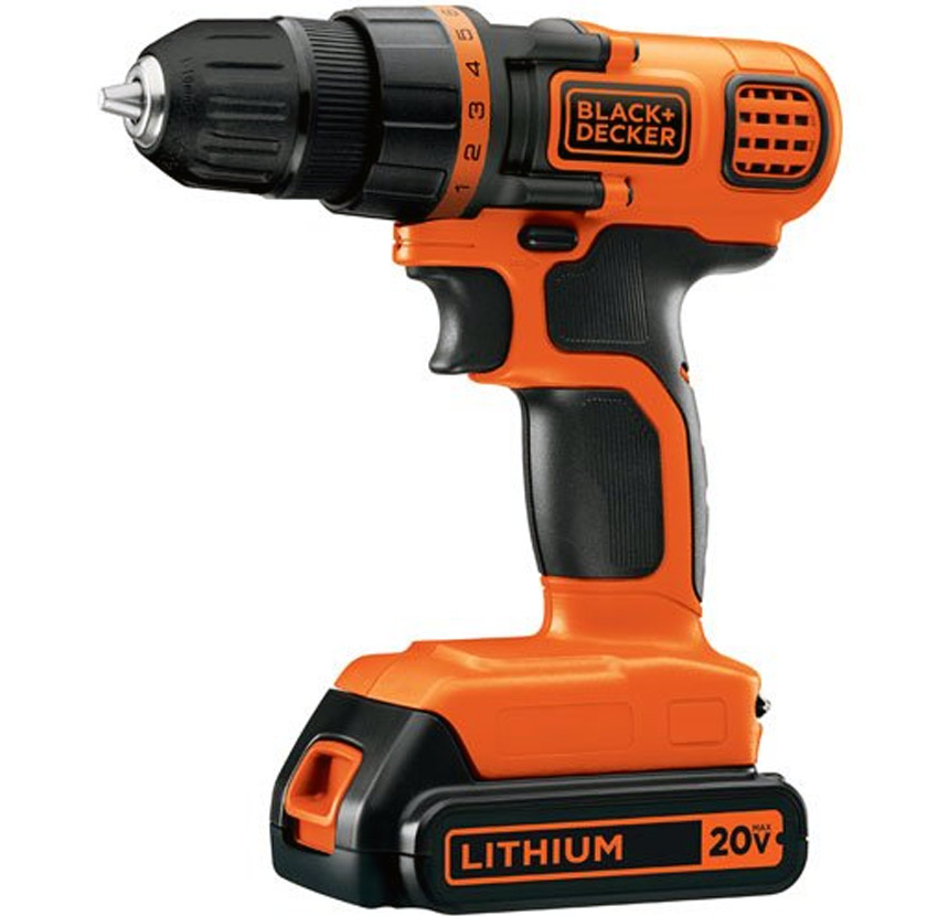 Black & Decker GCO1200C 12-Volt Cordless Drill with Over ... |Cordless Power Tools Black And Decker